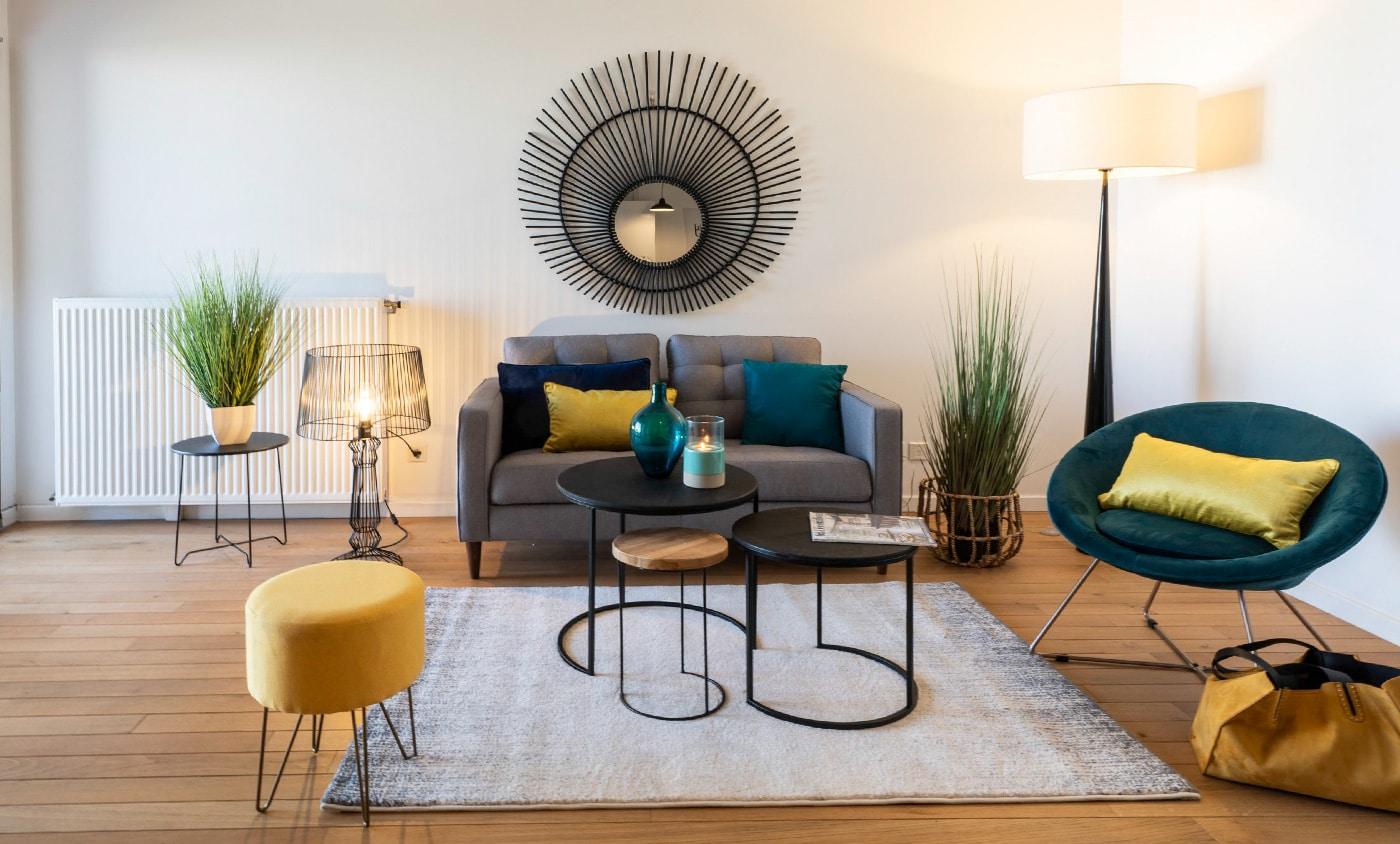 Home-Staging dans un appartement vide à Nancy - Par Caroline Kautzmann, Home-Stagist sur Strasbourg