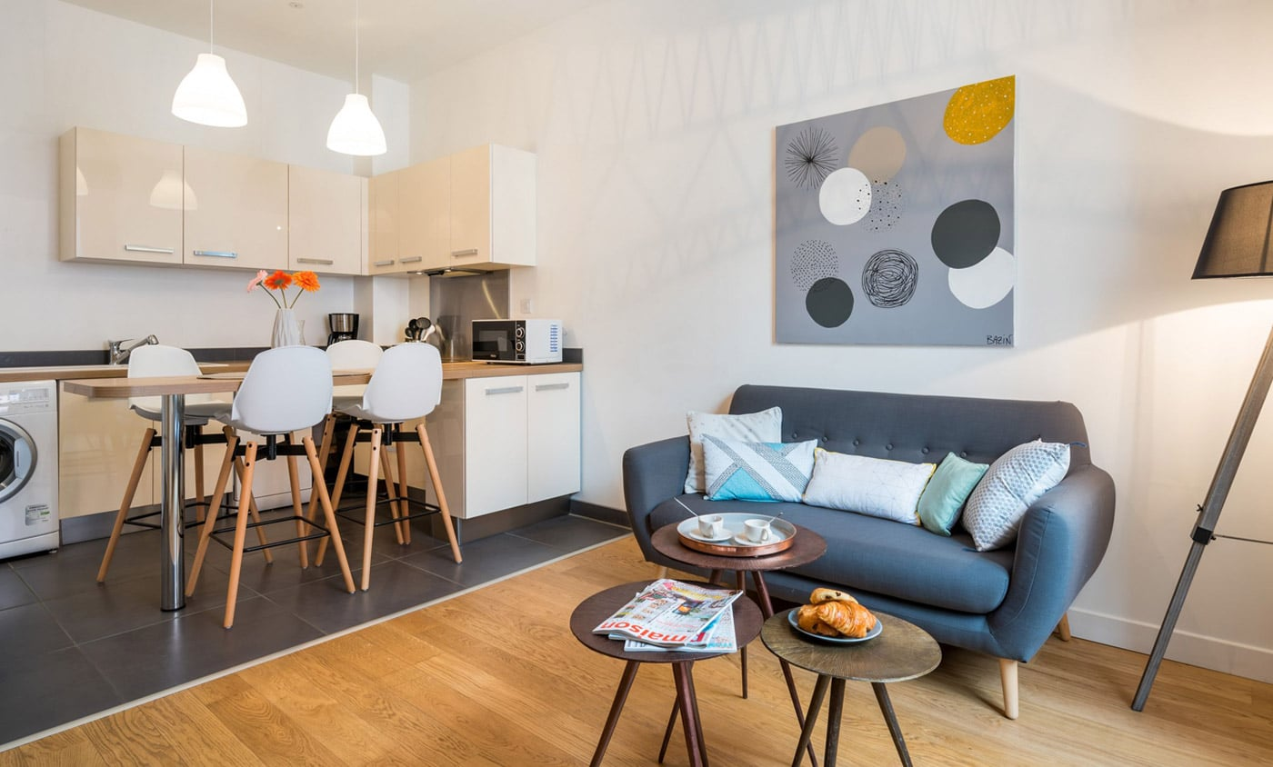 Home Staging Location meublee Christiane Prince Lyon