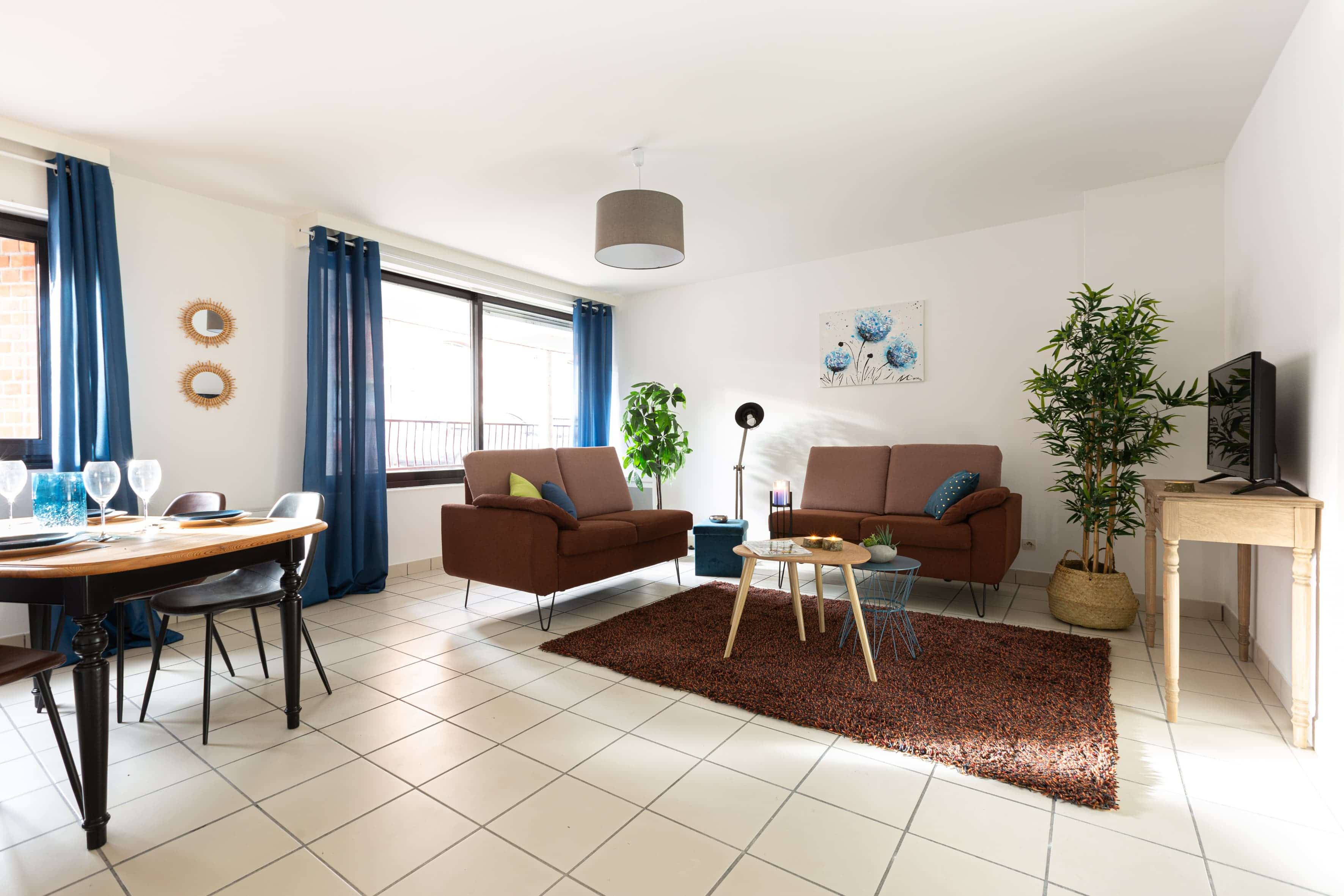 Location home Staging appartement duplex