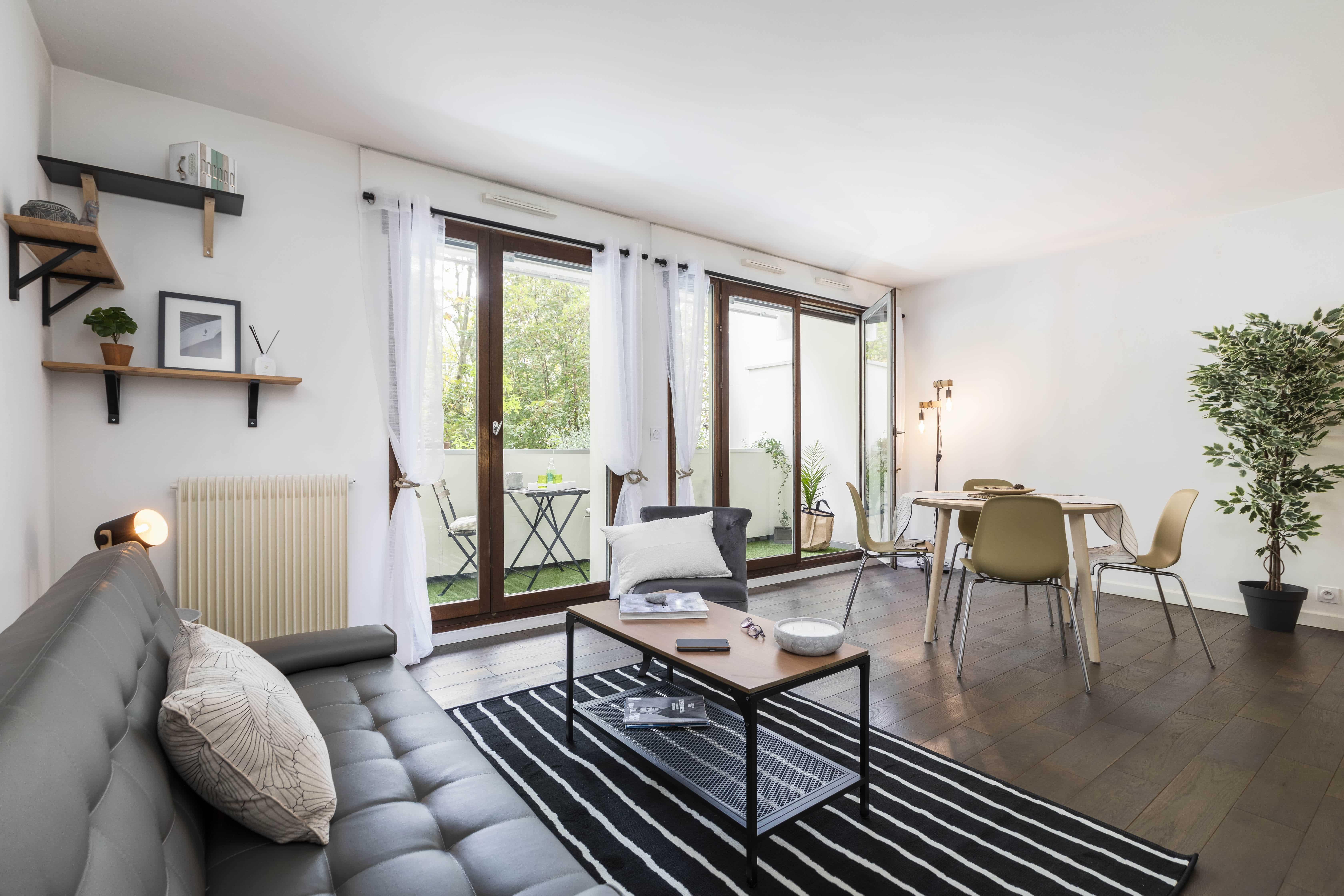 Appartement vendu en 48h après home-staging à Puteaux